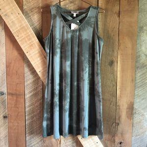 como blu Dresses - (NWT) Como Blu | Tie Dye Strappy Shift Dress